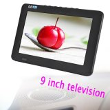 Sale 9Inch Digital Analog Television Resolution Portable Tv Intl Oem Wholesaler