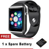 Brand New A1 Smart Watch Men Sport Bluetooth Wristwatch Pedometer With Sim Camera Fashion Smartwatch For Android Ios Smartphone Intl