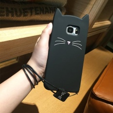 A5(2017) Cute 3D Bearded Cat Silicone Soft Case Cover - intl