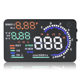 Price Comparisons A8 5 5 Screen Hud Head Up Display System For Car Black