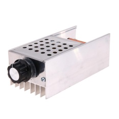 Ac 220v 6kw Scr Voltage Regulator Motor Speed Controller Dimmer Thermostat - Intl By Crystalawaking.