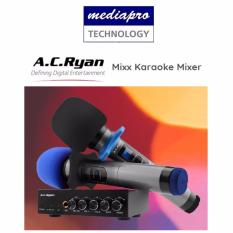 How Do I Get Ac Ryan Mixx Karaoke Mixer With 2 Wireless Microphones Input Sources Bluetooth Or Aux