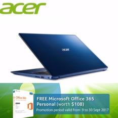 Acer Swift 3 (SF314-52G-5193) - 14 FULL HD /i5-8250U 8TH GEN /8GB DDR3/512GB SSD/Nvidia MX150 (2GB DDR5) /W10 (Blue)