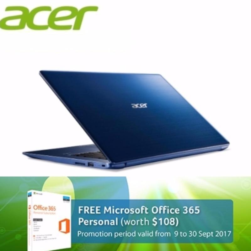 Acer Swift 3 (SF314-52G-5193) - 14 FULL HD /i5-8250U 8TH GEN /8GB DDR3/512GB SSD/Nvidia MX150 (2GB DDR5) /W10 (Blue)