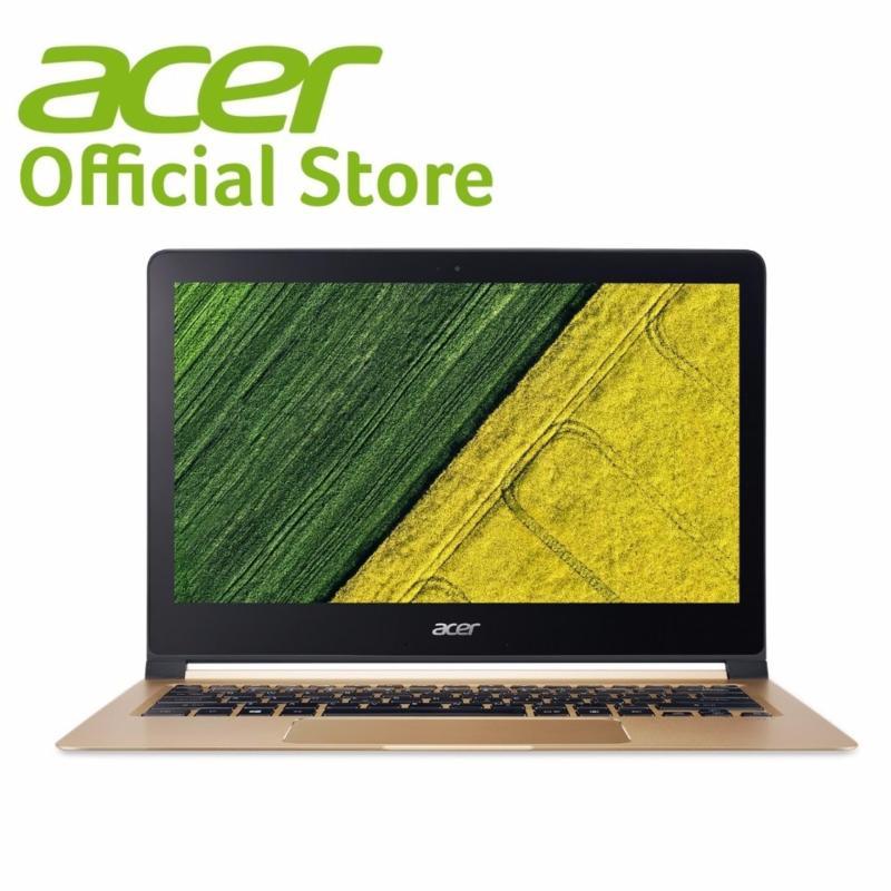 Acer Swift 7 (SF713-51-M9HV) - 13.3 FHD Ultrathin i7-7Y75/8GB RAM/256GB SSD/W10 Notebook (Black)