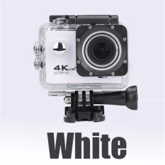 Cheapest Action Camera 4K 30Pfs 16Mp Wifi Ultra Hd Camera 1080P 60Pfs 2 Inch Waterproof 170D Helmet Bike Cam Sports Intl