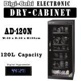 Ad 120N 120L Digi Cabi Electronic Dry Cabinet 5 Years Warranty Shop
