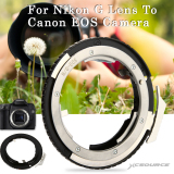 Adapter Ring For Nikon G Af S Ai F Lens To Canon Eos Ef Mount Dslr Camera Price