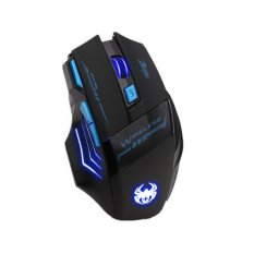 Adjustable 2400Dpi Optical Wireless Gaming Game Mouse Blue Lower Price