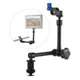 Cheapest Adjustable Articulating Friction Arm With 15Mm Rod Clamp Mount For Field Monitor Light Flash Microphone Camera Cage Rig Intl Online