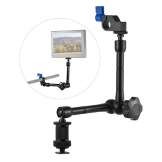 How To Get Adjustable Articulating Friction Arm With 15Mm Rod Clamp Mount For Field Monitor Light Flash Microphone Camera Cage Rig Intl