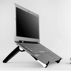 Adjustable Bracket for Computer Laptop Notebook PC Black Foldable Support - intl