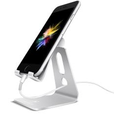 Adjustable Cell Phone Stand Lamicall Phone Stand Update Version Stand Dock Holder For Switch Iphone 7 6 6S Plus 5 5S 5C Charging Stand Accessories Desk All Android Smartphone Silver China