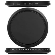 Price Comparison For Adjustable Neutral Density Nd Fader Filter Nd2 Nd4 Nd8 To Nd400 67Mm