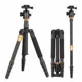 Afaith Qzsd Q666 Professional Magnesium Aluminium Alloy Tripod Monopod For Travel Dslr Camera Light Compact Portable Stand Intl Review