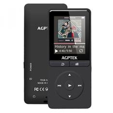 Sale Agptek 16Gb Mp3 Player With Fm Radio Voice Recorder 80 Hours Playback And Expandable Up To 64Gb A20Bs Black Online South Korea