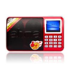 Get Cheap Ahma New 888 Portable Fm Radio With Tf Card Slots