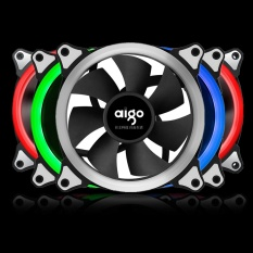 Discount Aigo Rgb Case Cooling Fan 120Mm 6Pin Silent Fan With Led Ring Adjustable Color Case Radiator Fan Computer Water Cooler Fan 12Cm 3 Pieces Rgb Fan 6Pin Controller Intl Oem