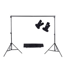Airsky 2 3M 6 6 9 8Ft Adjustable Background Support Stand Photo Backdrop Crossbar Kit With Two Clamps Intl Not Specified Discount