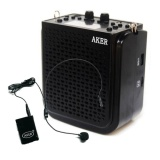 Get The Best Price For Aker Ak77W Voice Amplifier Speaker Goodee Rechargeable Portable Waistband Pa System With Wireless Transmitter Headset Microphone For Teachers Coaches Tour Guides And Presentations Intl