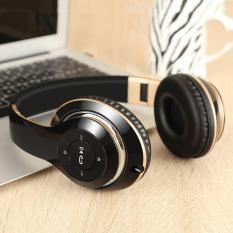 Allwin Sound Intone BT-09 Foldable Bluetooth Headphones Wireless Stereo Headsets - intl
