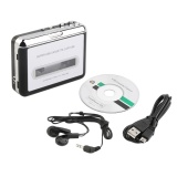 Review Allwin Tape To Pc Super Usb Cassette To Mp3 Converter Capture Audio Music Player New Black Oem On China