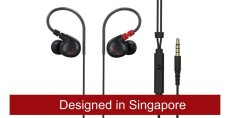 Alpha Delta D2M High Fidelity Sports Earphones Designed In Singapore Reviews