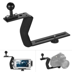 Aluminum Alloy Diving Photography Handle Bracket With 1 4 Scr*W For Underwater Camera Phone Housing Intl Shopping