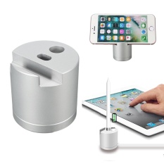 Aluminum Charging Dock Stand Desktop Charger Holder For Apple Ipad Pro Pencil Intl Lowest Price