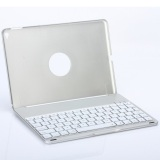 Latest Aluminum Wireless Bluetooth Keyboard F8 Case Cover For Ipad Air2 Silver