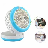 Best Buy Amanka Mini Misting Fan Portable Desktop Usb Fan 3600Rpm With 2000Mah Rechargeable For Home Office And Travel Table Desk Mini Humidifier Detachable Cover Intl