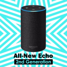 Review Amazon Echo 2Nd Generation With Improved Sound Powered By Dolby And A New Design Charcoal Fabric Intl Amazon On South Korea