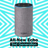 Price Amazon Echo 2Nd Generation With Improved Sound Powered By Dolby And A New Design Heather Gray Fabric Intl Amazon South Korea
