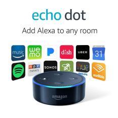 Review Amazon Echo Dot 2Nd Gen Black Amazon