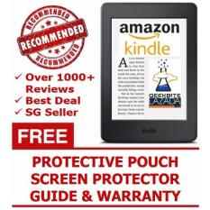 Price Geekbite Amazon Kindle Paperwhite 300 Ppi Black Kindle Premium Pouch Screen Protector Wifi Special Offers Amazon