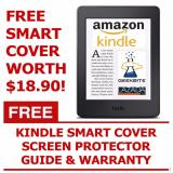 Top Rated Geekbite Amazon Kindle Paperwhite 300 Ppi Black Kindle Smart Cover Screen Protector Wifi Special Offers