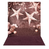 Andoer 1 5 2M Photography Background Backdrop Christmas Gift Star Pattern For Children Kids Baby Photo Studio Portrait Shooting Intl Andoer Cheap On China