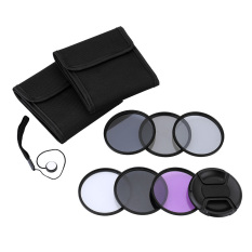 Andoer 55mm Uv????(nd2 Nd4 Nd8) Photography Filter Kit Set Ultraviolet Circular-Polarizing Fluorescent Neutral Density Filter For Nikon Canon Sony Pentax Dslrs (export) By Tomtop.