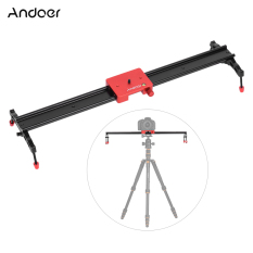 Who Sells Andoer 60Cm 23 6 All Metal Aluminum Alloy Video Track Slider Dolly Rail Stabilizer Max Load 6Kg For Canon Nikon Sony Dslr Cam Camera Camcorder Intl The Cheapest