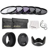 Andoer 77Mm Lens Filter Kit Uv Cpl Fld Nd Nd2 Nd4 Nd8 With Carry Pouch Lens Cap Lens Cap Holder Tulip Rubber Lens Hoods Cleaning Cloth Outdoorfree Reviews