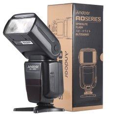 Andoer Ad-980ii I-Ttl Hss 1/8000s Master Slave Gn58 Flash Speedlite For Nikon D7200 D7100 D7000 D5200 D5100 D5000 D3000 D3100 D3200 D3300 Dslr Camera (export) By Tomtop.