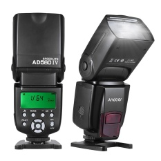Andoer Ad560 Iv 2.4g Wireless Universal On-Camera Slave Speedlite Flash Light Gn50 Lcd Display For Canon Nikon Olympus Pentax For Sony A7/ A7 Ii/ A7s/ A7r/ A7s Ii Dslr Cameras - Intl By Tomtop.