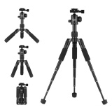 Andoer Bc 30 Mini Tabletop Tripod Stand With Ball Head 1 4 Quick Release Plate 5 Section Aluminum Alloy Max Load 5Kg 11Lbs For Canon Nikon Sony A7 Dslr Camera Smartphone Dv Intl Coupon