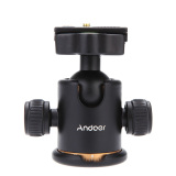 Andoer Camera Tripod Ball Head Ballhead With Quick Release Plate 1 4 Scr*W Price Comparison