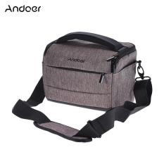 Cheap Andoer Cuboid Shaped Dslr Camera Shoulder Bag Portable Fashion Polyester Camera Case For 1 Camera 2 Lenses And Small Accessories For Canon Nikon Sony Fujifilm Olympus Panasonic Intl