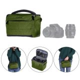 Sale Andoer Cuboid Shaped Dslr Camera Shoulder Bag Portable Fashion Polyester Camera Case For 1 Camera 2 Lenses And Small Accessories For Canon Nikon Sony Fujifilm Olympus Panasonic Outdoorfree Intl Andoer