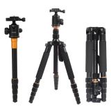 Buy Andoer Foldable Portable Extendable Aluminium Alloy Tripod Unipod Monopod With Ball Head Online