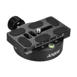 Get The Best Price For Andoer Kz 40 Universal Aluminum Alloy Tripod Head Disc Clamp Adapter W Pu 70 Quick Release Plate Compatible For Arca Swiss Outdoorfree Intl