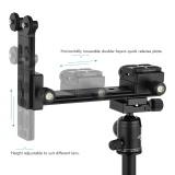 Andoer L200 Telephoto Lens Support Long Lens Holder Bracket Height Adjustable Compatible For Arca Swiss Sunwayfoto Rrs Benro Kirk Markins Mount Intl For Sale