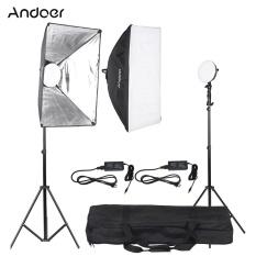 Review Andoer Led Photography Studio Lighting Light Kit With 2 30W Led Lamp 2 Softbox 2 Light Stand 1 Carrying Bag Intl Hong Kong Sar China